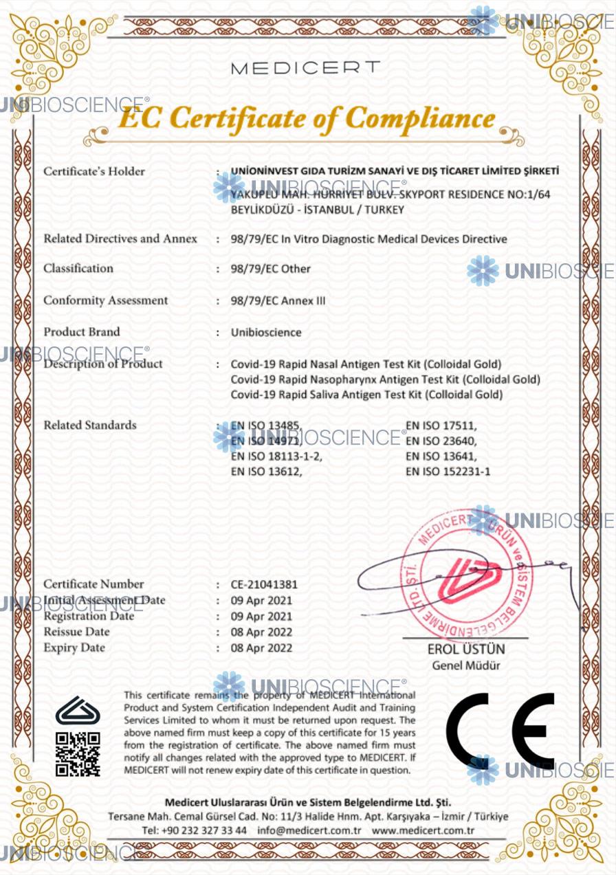 unibioscience-EC-certificate-of-compliance