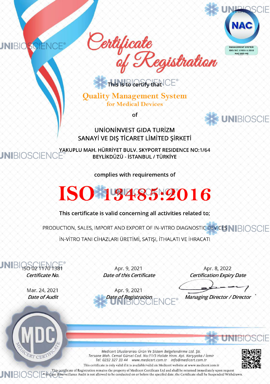 unibioscience-GMS-13485